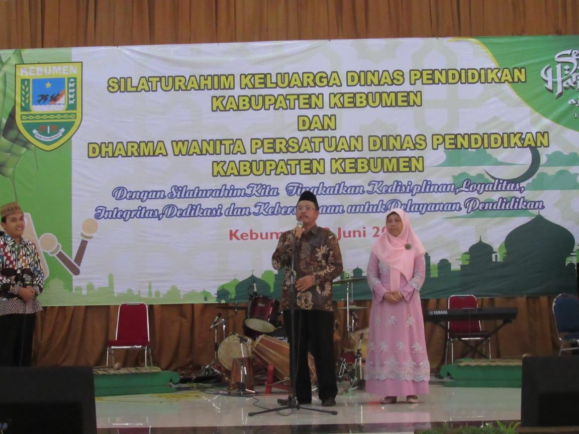 Acara Silaturahim Dinas Pendidikan Kabupaten Kebumen